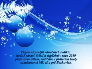 26. Vánoční a novoroční přání na rok 2019